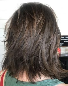 Dynamic Layered Feathered Bangs Hairstyles