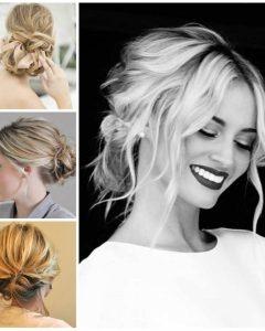 Modern Wedding Hairstyles For Medium Length Hair