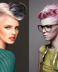 Messy Hawk Hairstyles For Women