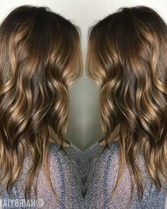 Beige Balayage for Light Brown Hair