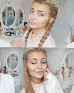 Braided Hairstyles For School