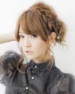 Japanese Braided Hairstyles