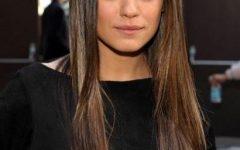 Mila Kunis Long Hairstyles