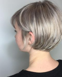 Pixie Layered Medium Haircuts