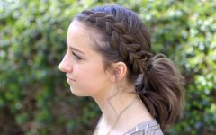Pony Hairstyles with Accent Braids