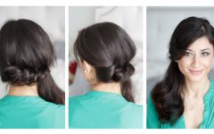 Side Ponytail Braids with a Twist