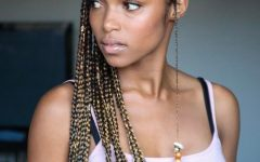 Lemon Tinted Lemonade Braided Hairstyles
