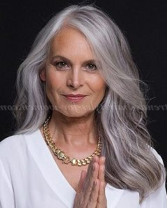 Long Hairstyles for Grey Hair