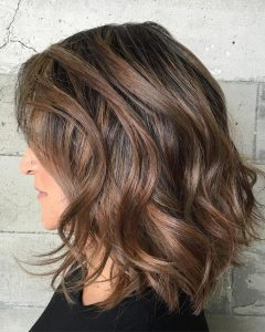 Medium Hairstyles Wavy Thick Hair