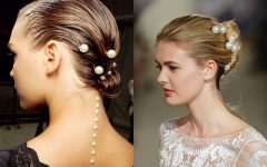 Pearls Bridal Hairstyles