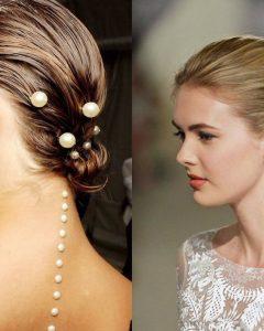 Pearls Bridal Hairstyles