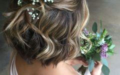 Short Wedding Hairstyles for Bridesmaids