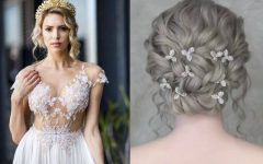 Sparkly Chignon Bridal Updos
