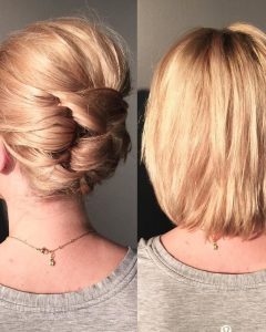 Updos Wedding Hairstyles For Short Hair