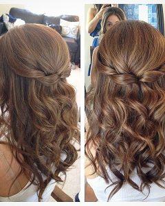 Wedding Hairstyles For Medium Length Curly Hair