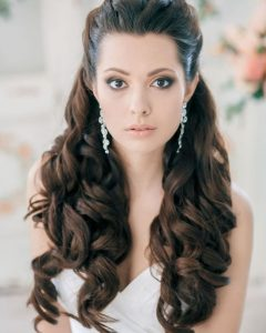 Wedding Hairstyles with Long Hair Down
