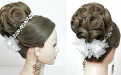 Wedding Updos for Long Hair Bridesmaids