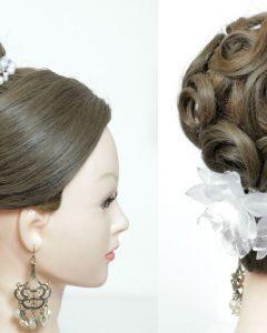 Wedding Updos For Long Hair Bridesmaids