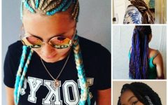 Braided Yarn Hairstyles
