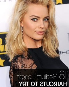 Celebrities Medium Haircuts