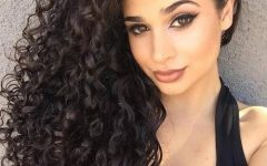 Curly Hair Long Hairstyles