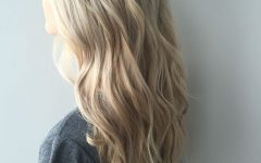 Dirty Blonde Hairstyles with Subtle Highlights