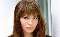 Full Fringe Long Hairstyles