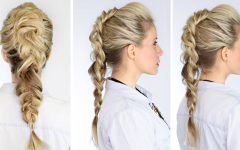 Lobster Tail Faux Hawk Hairstyles