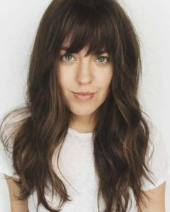Long Haircuts Styles With Bangs