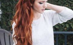 Long Hairstyles For Red Hair
