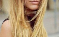 Long Hairstyles with Straight Bangs