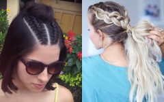 Loose Spiral Braided Hairstyles