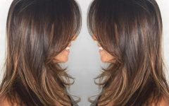 Medium Hairstyles Brunette Layers
