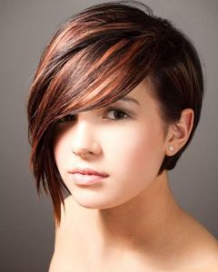 One Side Short One Side Long Hairstyles
