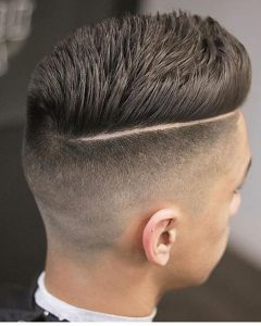 Sleek Coif Hairstyles with Double Sided Undercut