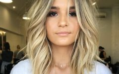 Soft Ash Blonde Lob Hairstyles