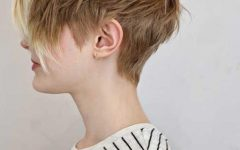 Textured Pixie Haircuts