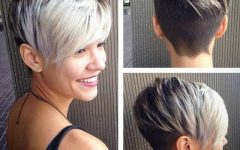 Two-tone Pixie Haircuts