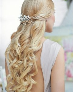 Wedding Hairstyles For Long And Thin Hair