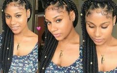 Kanekalon Braids with Golden Beads