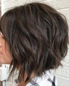 Layered and Textured Bob Hairstyles