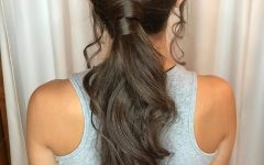 Long Elegant Ponytail Hairstyles