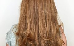 Long Texture-boosting Layers Hairstyles