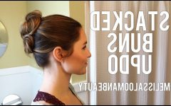 Stacked Mini Buns Hairstyles