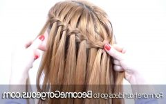 Waterfall Mermaid Braid Hairstyles