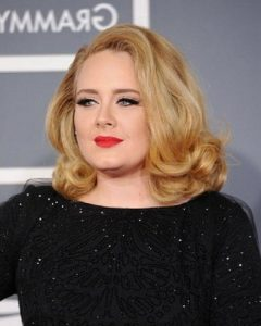 Adele Shoulder Length Bob Hairstyles