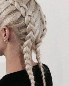 Braided Hairstyles For White Hair