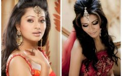 Easy Indian Wedding Hairstyles for Medium Length Hair