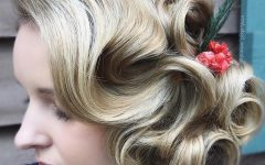 Flowing Finger Waves Prom Hairstyles