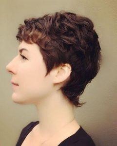 Growing-out Pixie Haircuts for Curly Hair